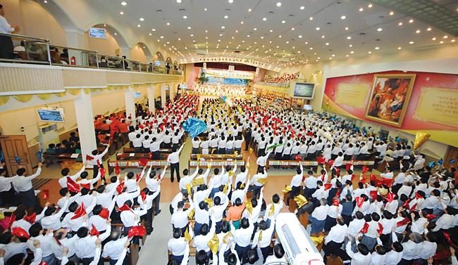 会献身礼拜, 刚果民族共和国东部地区牧会者研习会