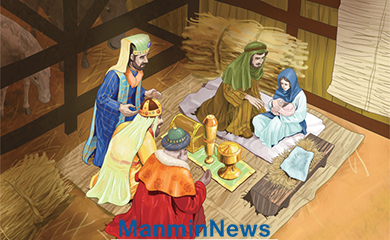 Manmin News > Spiritual 'Manna' from Heaven Is Given to This